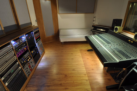 Press Play Studio Control Room